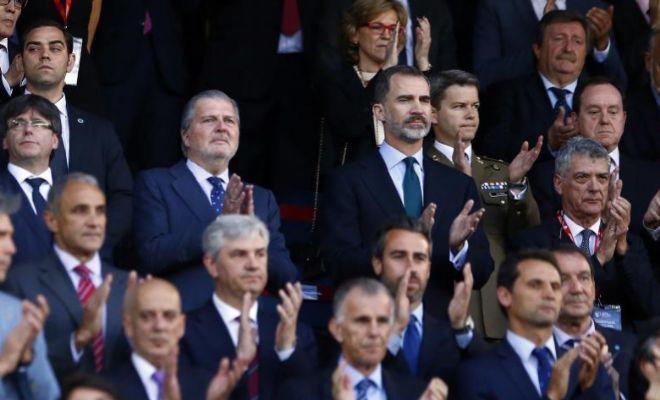 Pitada al himno de España en la Copa del Rey