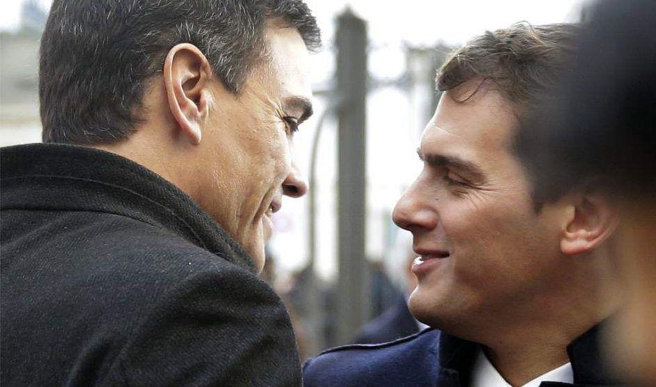 Pedro Sánchez, erre que erre con Rivera
