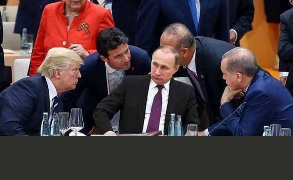 La foto fake de Putin en la cumbre del G20