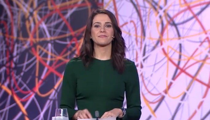 Cachondeo con el último minuto de Inés Arrimadas en el debate