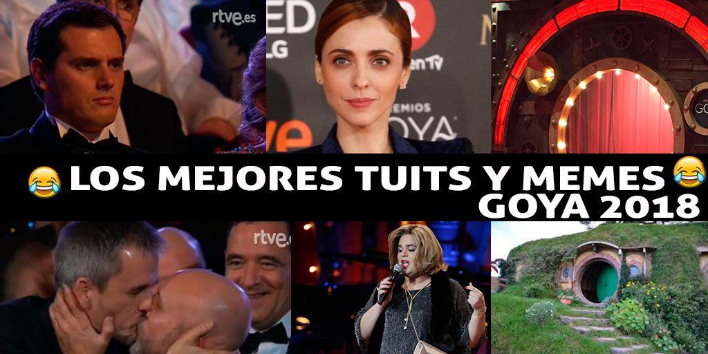 Los mejores tuits y memes de los Goya 2018