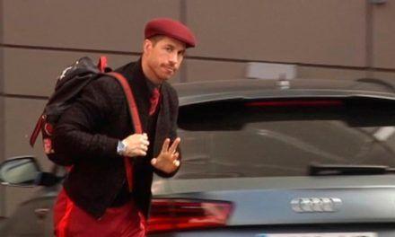 Sergio Ramos, otra vez protagonista de memes y cachondeo por su look