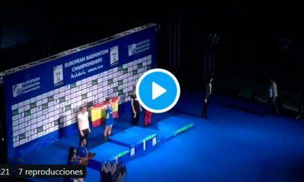 Brutal pitada a Susana Díaz en la entrega de medallas a Carolina Marín