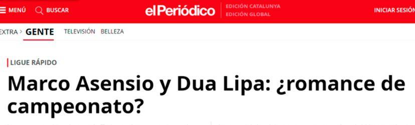 be the one dua lipa asensio