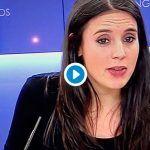 Una periodista deja sin palabras a Irene Montero