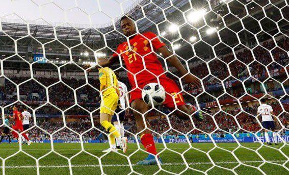 Batshuayi y su celebración, uno de los momentos más cómicos del Mundial