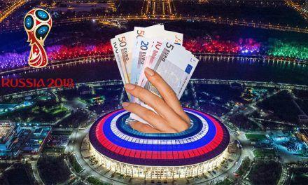 Las casas de apuestas online ya tienen favoritos tras la 1ª J del Mundial