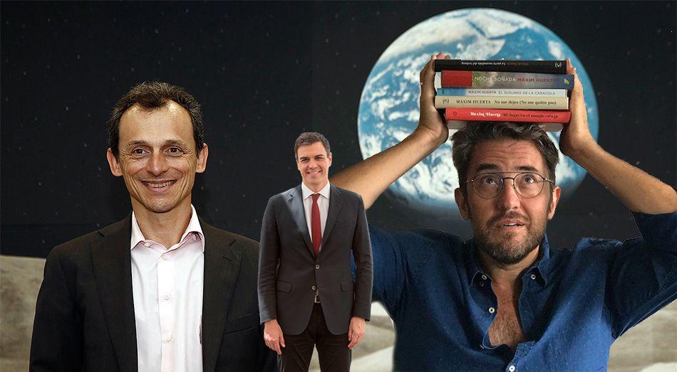 Reacciones tuiteras al nombramiento de los nuevos ministros Pedro Duque y Màxim Huerta