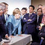 Los mejores tuits y memes con esta fotaza del G7