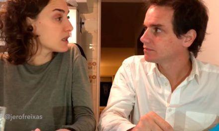 Los vídeos virales de la pareja argentina discutiendo por el Mundial