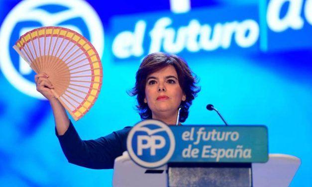 Los mejores memes del momento abanico de Soraya en el Congreso del PP