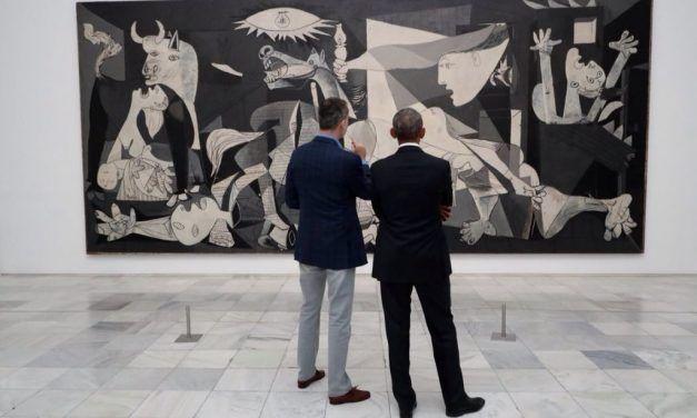 Los mejores memes del Rey y Obama frente al Guernica de Picasso