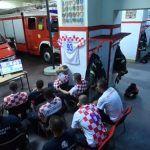 El vídeo viral de los bomberos croatas no es real. Es una actuación para concienciar