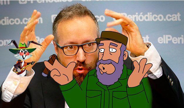 Ridículo de Ciudadanos al confundir a Fidel Castro con un dibujo animado