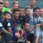 Resumen tuitero de la final de la Supercopa en Tánger