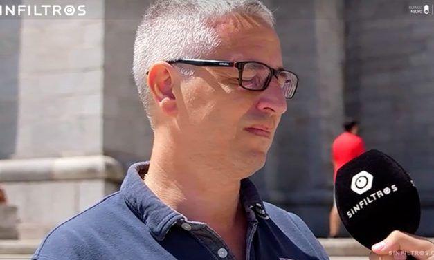 Cachondeo con el vídeo del falangista catalán en el Valle de los Caídos