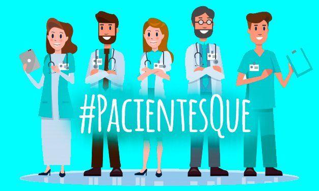 Los sanitarios retratan a sus pacientes bajo el hashtag #PacientesQue