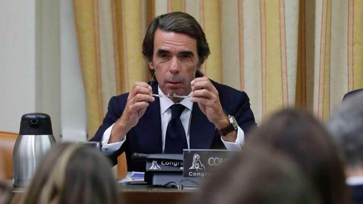 Aznar y sus rifirrafes con Rufián y Pablo Iglesias
