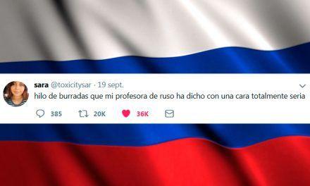 El hilo de las maravillosas frases de una profesora de ruso