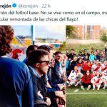 Zascas a Errejón por llamar fútbol base a la 1ª División de fútbol femenino