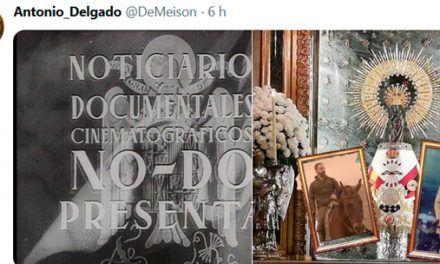 Los mejores tuits y memes de la Virgen del Pilar más falangista