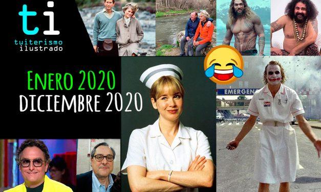Enero 2020 / Diciembre 2020 el meme resumen del año